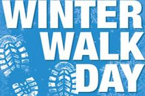 Winter Walk Day Date: February 5, 2014 Time: 12:15pm Location: City Hall (skating rink entrance) Free giveaways for the first 150 walkers!