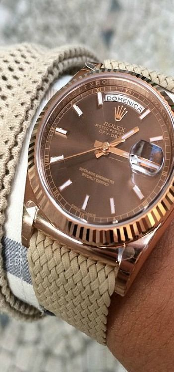 rose gold Rolex. beige perlon strap. - watches for gents, man hand watch price, ladies watches for sale *sponsored https://www.pinterest.com/watches_watch/ https://www.pinterest.com/explore/watches/ https://www.pinterest.com/watches_watch/watches/ https://www.fossil.com/us/en/watches.html #goldwatch #menswatchesfossil