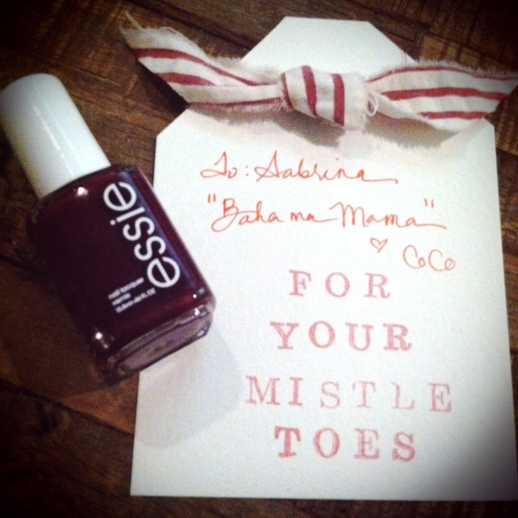 For Your Mistle Toes - Cute Christmas gift.
