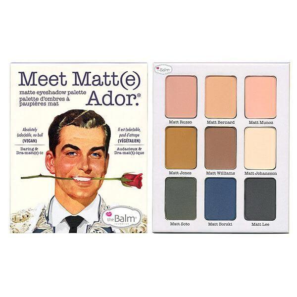 The Balm Cosmetics - Meet Matt(e) Ador - Matte Eyeshadow Palette