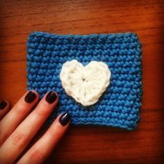 Starbucks Coffee Cup Cozy Crochet   crochet cup cosy - free pattern! Great idea seeing as Starbucks are ...