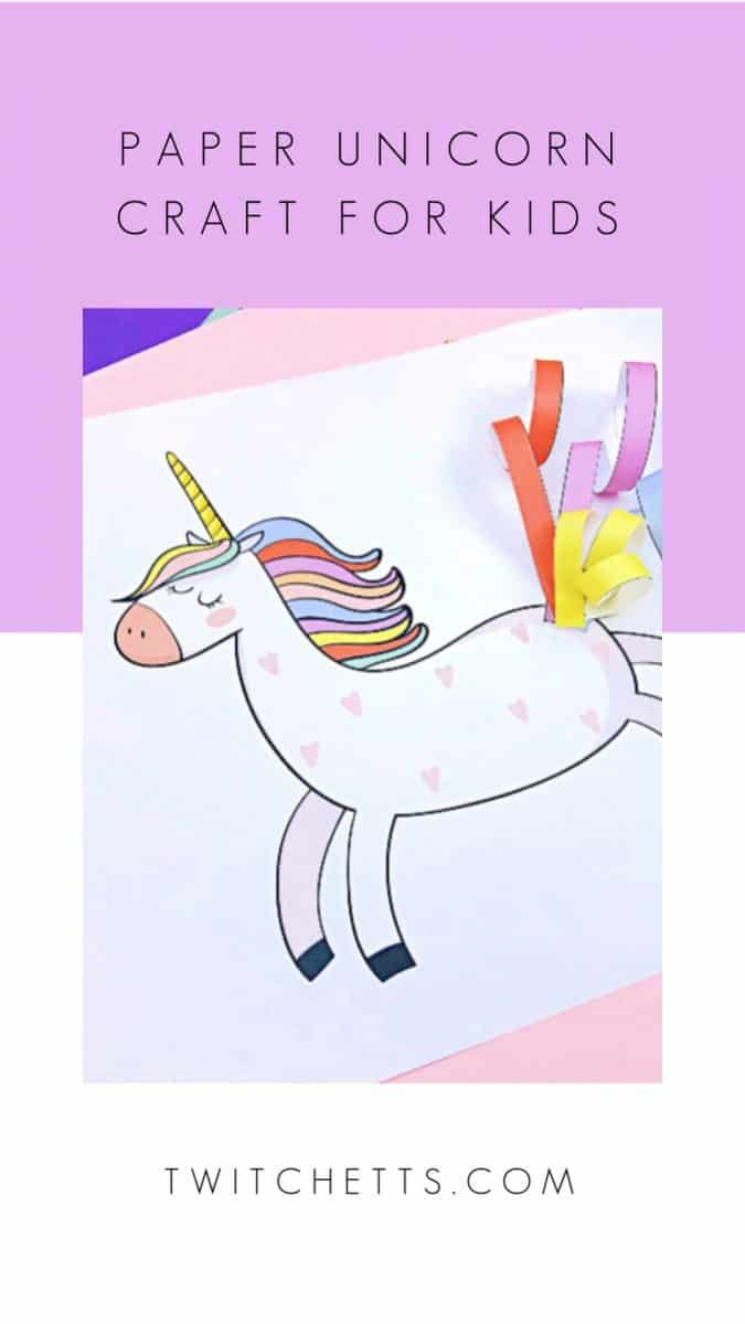 Easy 3D Paper Unicorn Decoration - Red Ted Art - Make crafting ... | 1200x675