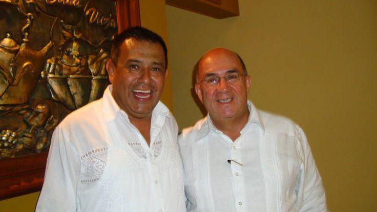 Alcalde y gobernador del valle Ubeimar Delgado