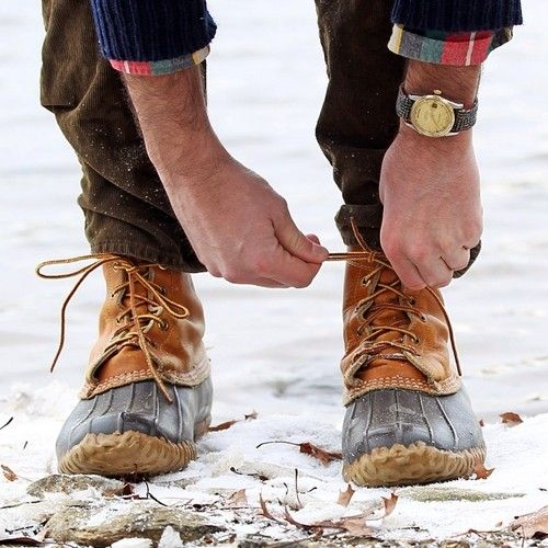 Ll bean duck boots preppy - photo#7