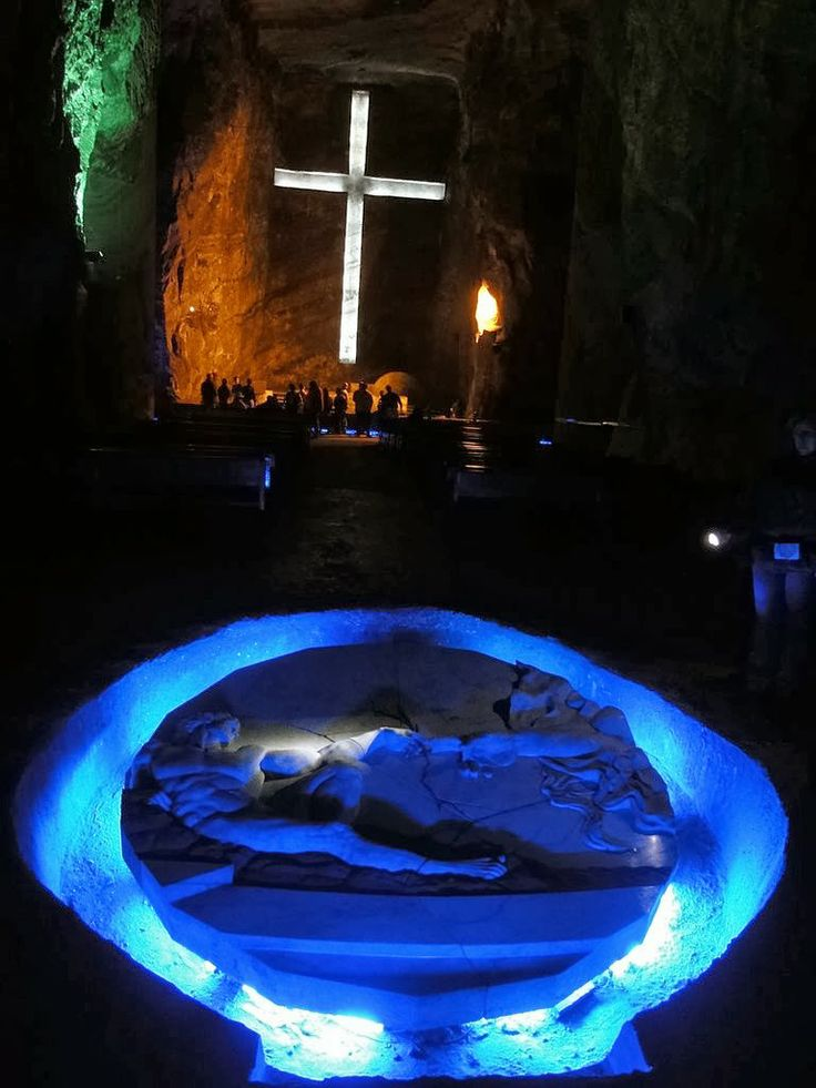 The Salt Cathedral of Zipaquira in Colombia: - holidayspots4u