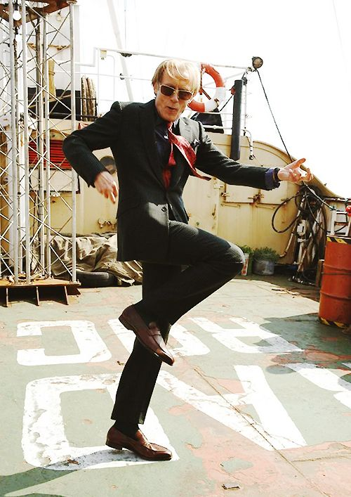 Cause Bill Nighy dancing in one of my favorite movies will always make me smile ^_^