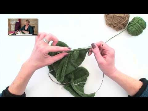 Striped Baby Cardi - Part 3 - YouTube