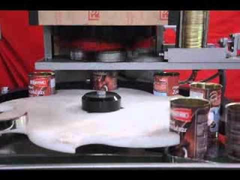 Automatic Can Seaming Machine ,  Metal Tin Can Seaming Machine