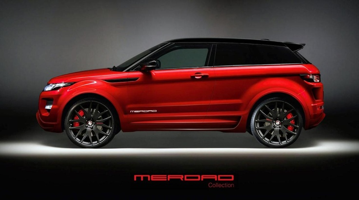 Range Rover Evoque от Merdad Collection