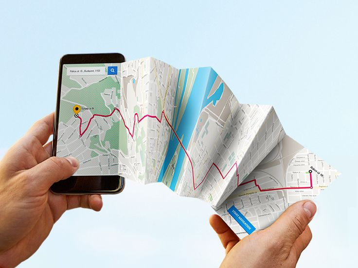 mobile internet is a work tool / navigation