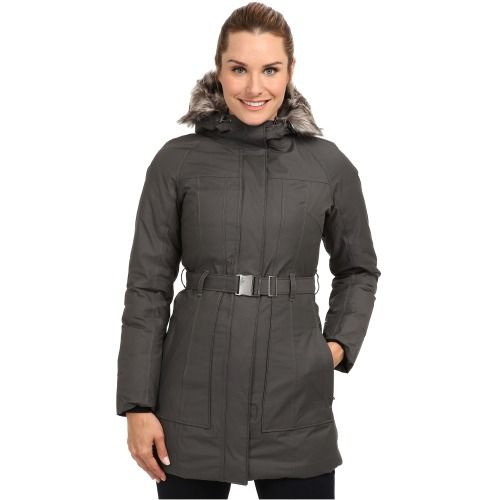 $279.00 The North Face Brooklyn Jacket (Graphite Grey) Women's Coat
