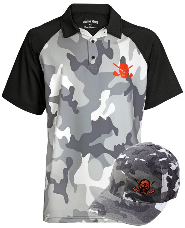 93bff000 Camo Polo, Golf Shorts & Golf Glove (White) | Pictures | Golf outfit ...