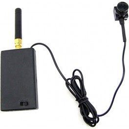 Mini cámara espia de botón inalámbrica 2,4ghz con batería interna