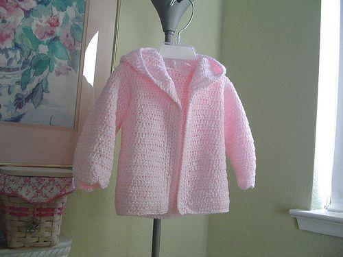 Ravelry Hooded Baby Jacket Pattern By Bernat Design