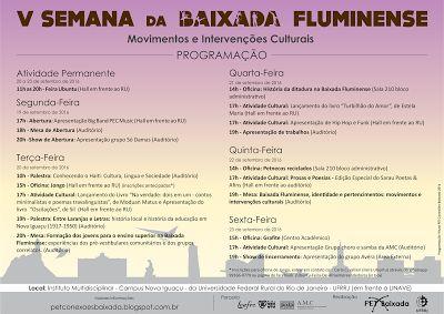 Jornalista Denise Machado: V Semana da Baixada Fluminense