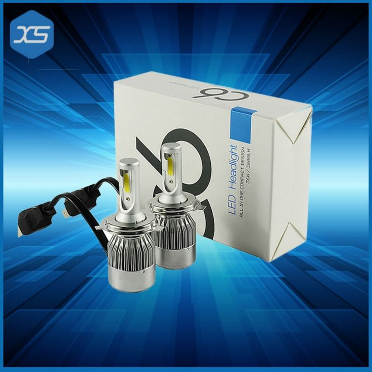 33.04$  Watch now - http://ali4pl.shopchina.info/go.php?t=32785376222 - 2pcs 36W Super Bright White Changeable H4 9004 9007 LED Bulbs Dual Beam LED COB Headlight For Cars,LED Lights Automotive 33.04$ #aliexpressideas