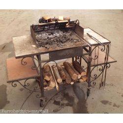 Stainless Steel Barbecue. Customize Realizations. 854