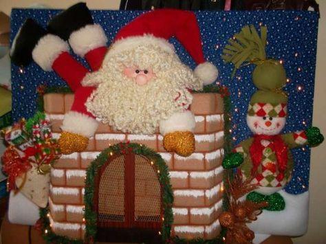 Country muñecos navideños - Imagui