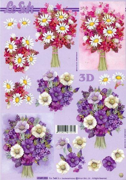 Papier 3D - Kwiaty 203 :: Quilling Hobby