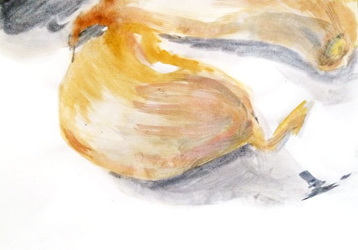 Carlota Martinez. Aguarela s/ papel, 21 x 29,7 cm