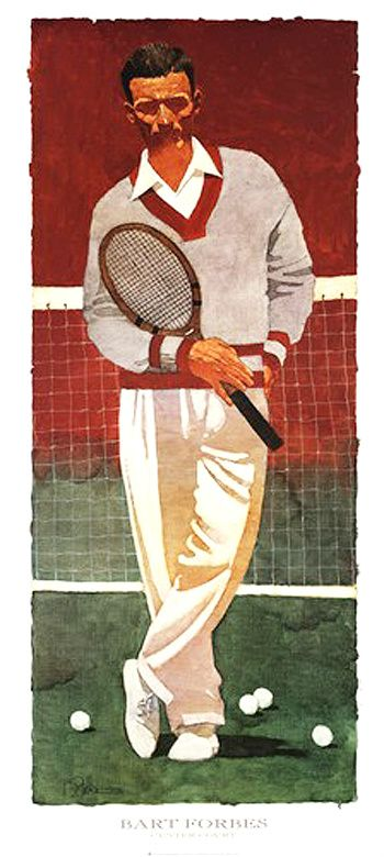 Tennis by Bart Forbes