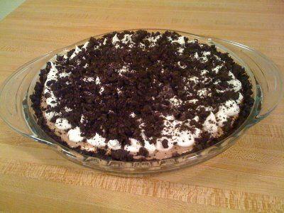 Oreo Triple Layer Chocolate Pie …. Das sieht lecker aus !! Denke, ich könnte es versuchen. – Desserts