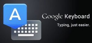 the Swift Key Keyboard, which is available as a third party download from the Play Store.