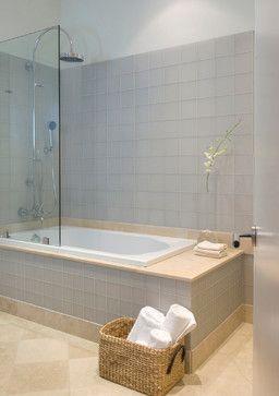 Aqua Glass Drop In Tub Design Ideas Pictures Remodel
