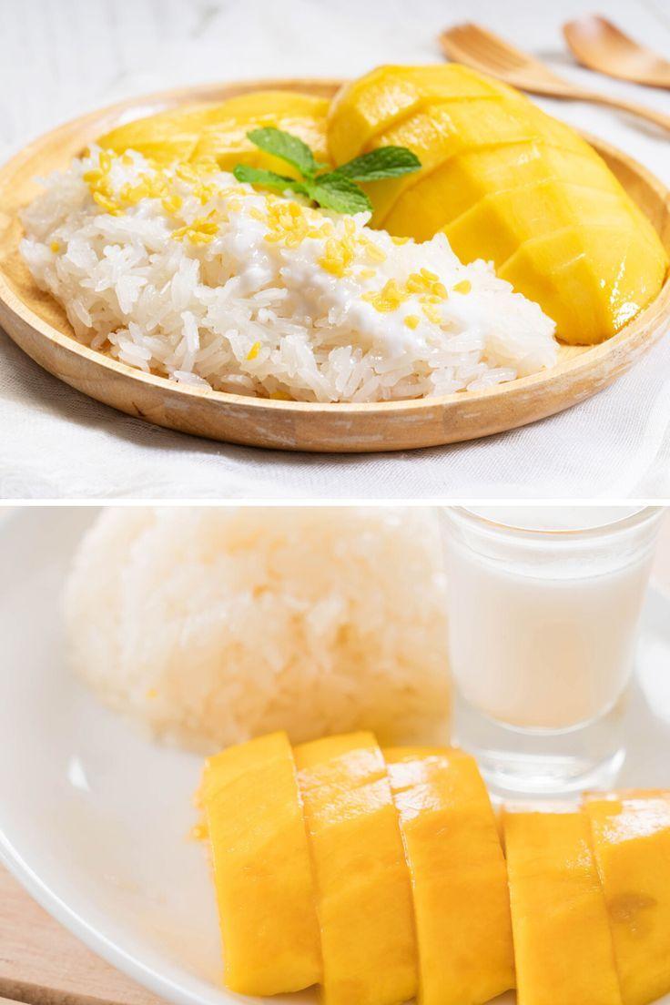 Easy Mango Sticky Rice Recipe - Authentic Mango with ...