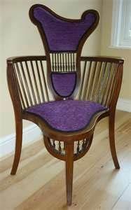 Art Nouveau Chair                                                                                                                                                                                 Mais