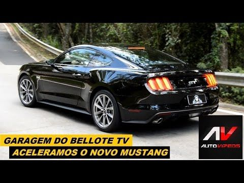Garagem do Bellote TV: Aceleramos o novo Mustang GT com 435 cv