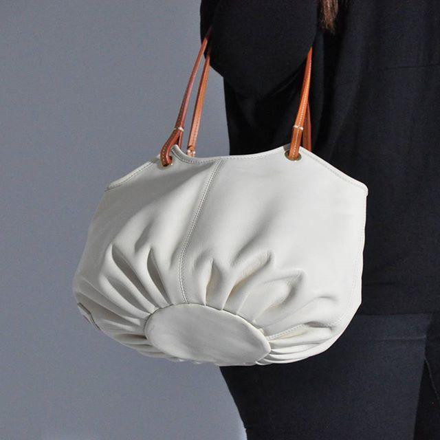 Good morning monday!! Taleguita parchment...available at benchbags.com