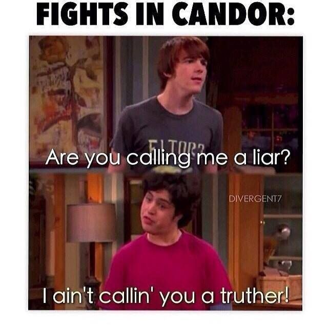 candor - divergent - funny divergent