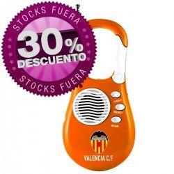 Radio portátil del equipo de #fútbol Valencia FC. Producto en oferta por tan solo 3,90€. Merchandising de fútbol a buen precio.