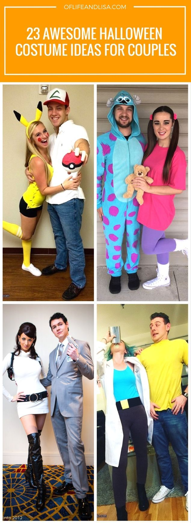 23 Halloween Costumes for Couples That Scream Relationship Goals