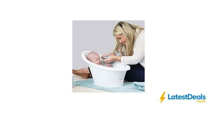 Shnuggle Cosy Bath Tub with Bum Bump Support and Foam Backrest, £20.99 at Amazon UK
