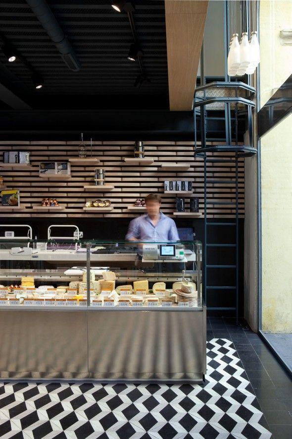 Fromagerie Aix en Provence / Vincent Coste Design Studio et associés | AA13 – blog – Inspiration – Design – Architecture – Photographie – Art