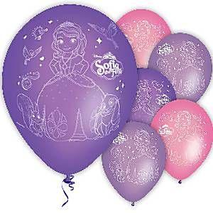 Sofia den Første balloner