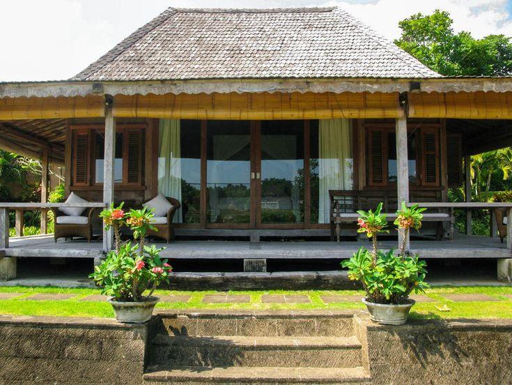 Bali Style -Reclaimed Teak Bungalow designed and built by DvdG for Kayu Naga