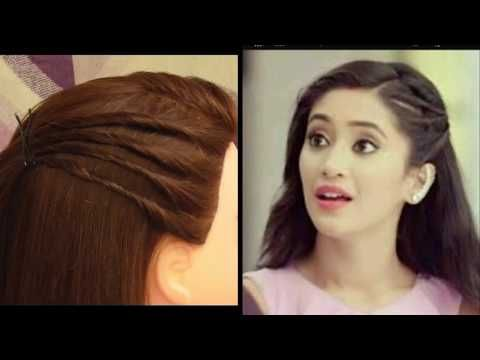 Easy Everyday College Hairstyle For Girls Inspired By Naira Awesome Outgoing Girls Hairstyle Youtube College Hairstyles Front Hair Styles Girl Hairstyles