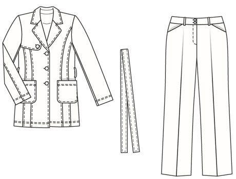 Burdastyle 02-2007-128, Trench coat jacket, 44-52