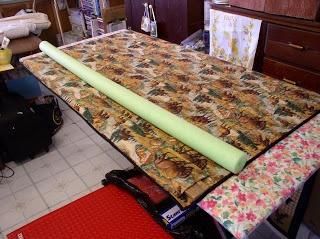 LuAnn Kessi: Exhibit Quilt Preparation