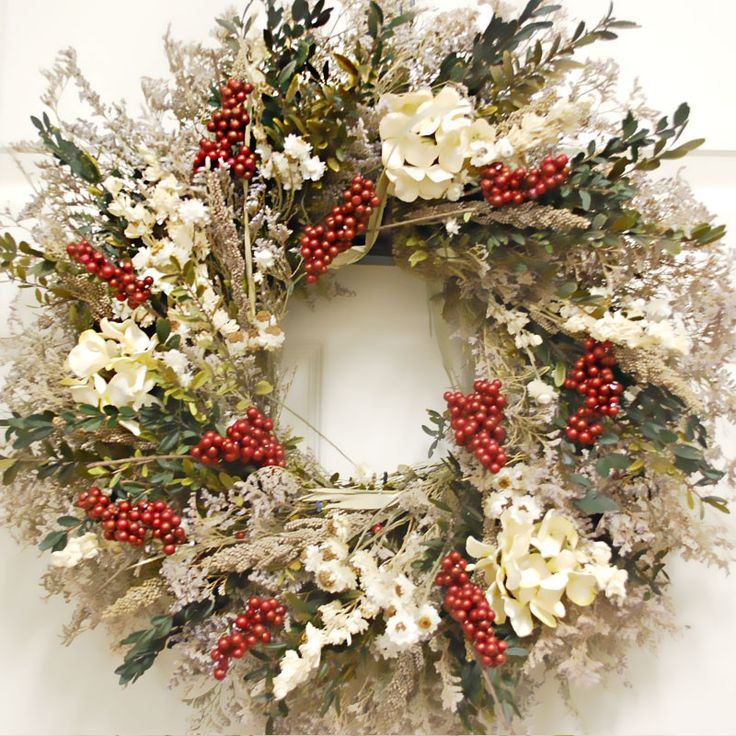 54 Awesome Christmas Wreath Ideas