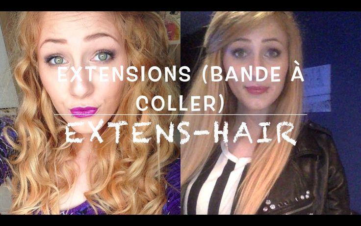 Extension adhésives par - Extens-hair. Tester nos extensions en bande à coller ici : http://www.extens-hair.com/40-extension-bande