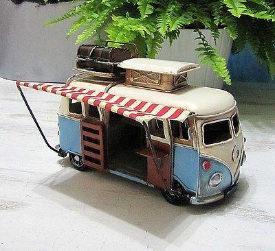 Hippi-Tin-Campervan-Vintage-Design-Gift-Campervan-Picture-Frame-Tilt-Campervan