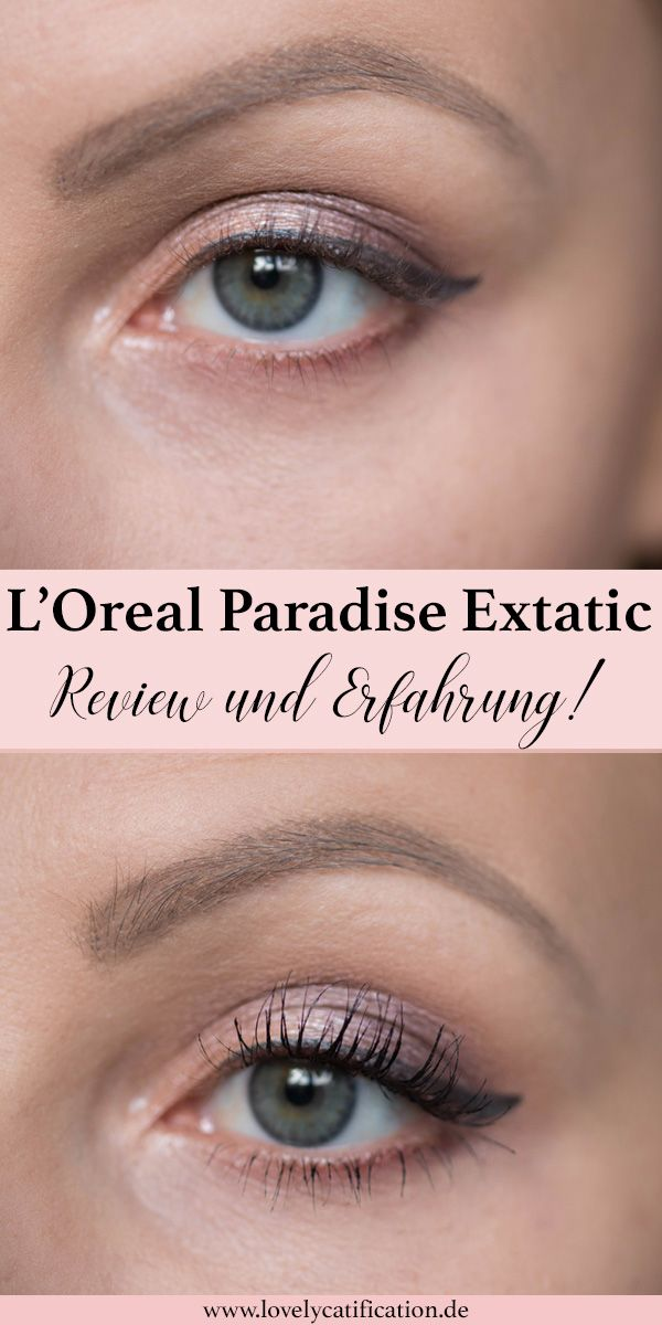 ♥♥♥ L'Oreal Paradise Extatic Mascara - Review und Erfahrung! Jetzt lesen auf Lovelycatification.de ♥♥♥ #loreal #lorealparadiseextatic #makeup #review #blogger