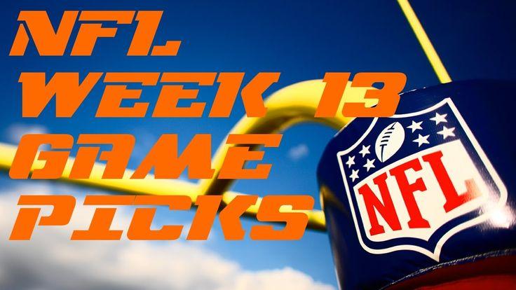 NFL Week 13 Game Picks