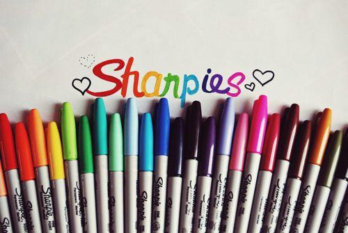 LOVE SHARPIES!!