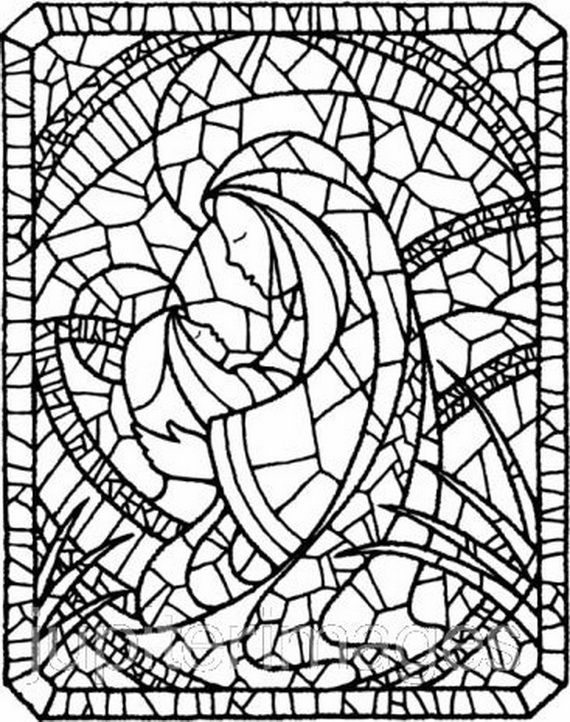 blessed mother coloring page - 25 best ideas about assumption of mary on pinterest