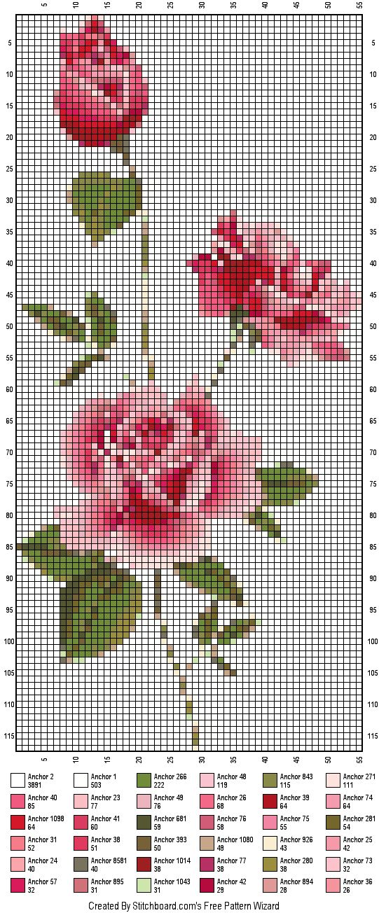 Stitchboard.com Free Pattern Wizard, create your own ...